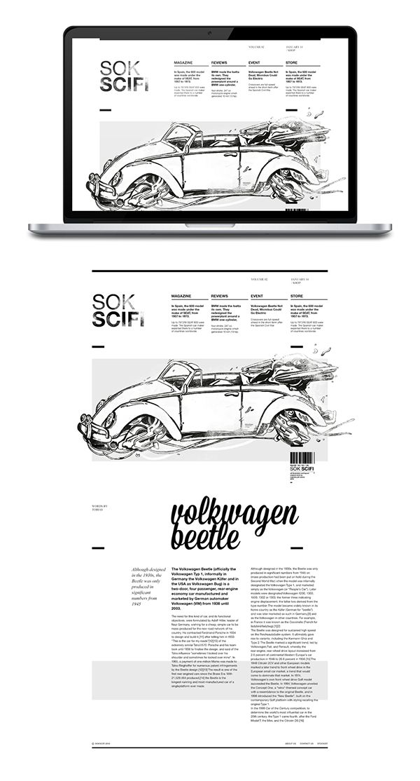 Sok Scifi Edition - #005 Check me on dribbble to see another shot dribbble.com/nugrahajatiutama #design #editorial #layout