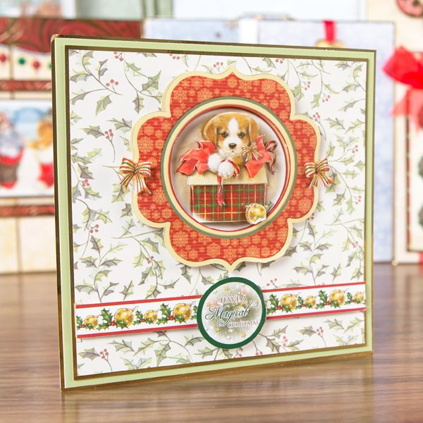 Hunkydory Santa Paws Ultimate Bundle - Includes Card Collection, Inserts and Paper Pad (347888) | Create and Craft