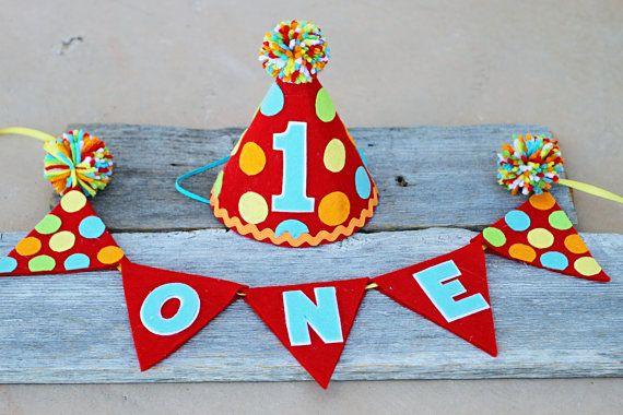 Carnaval de niños 1er cumpleaños fiesta sombrero por LaLaLolaShop