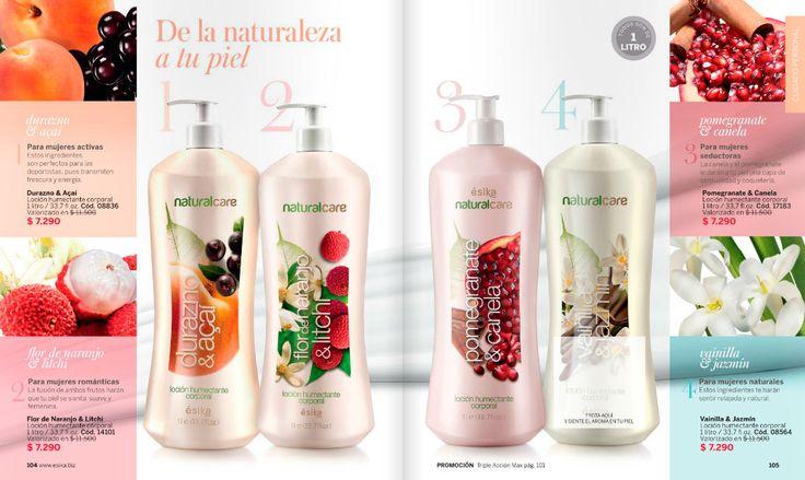 Exquisitos aromas en 1 litro de crema corporal. Durazno-acaí, Flor de naranjo, Pomegranate-canela y Vainilla-jazmín. Pide la tuya y te la entrego son en unos dias en tus manos.