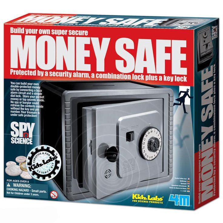 money safe toy instructions