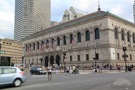 #5. Boston Public Library  Top 10 Tourist Attractions in Boston – Things To See in Boston