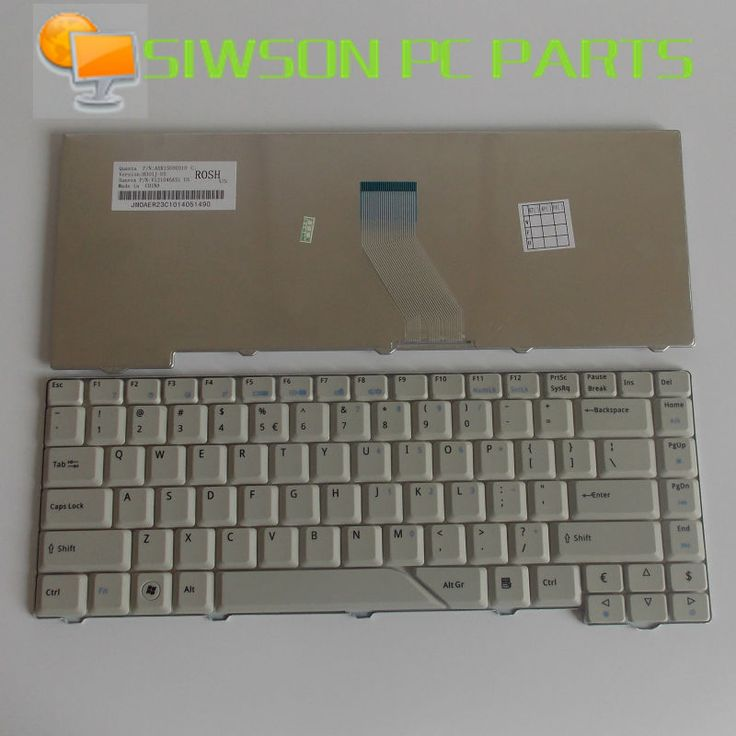 Laptop Keyboard US Replacement for Acer Aspire 5520 5520G 5920 5920G 5920Z 5920ZG AS5920-6582 AS5920-6661 Gray