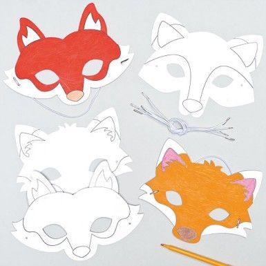 65 best images about fancy dress on pinterest for Fantastic mr fox mask template