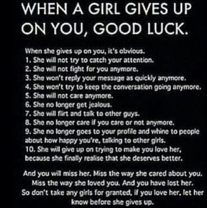 and trust me she will