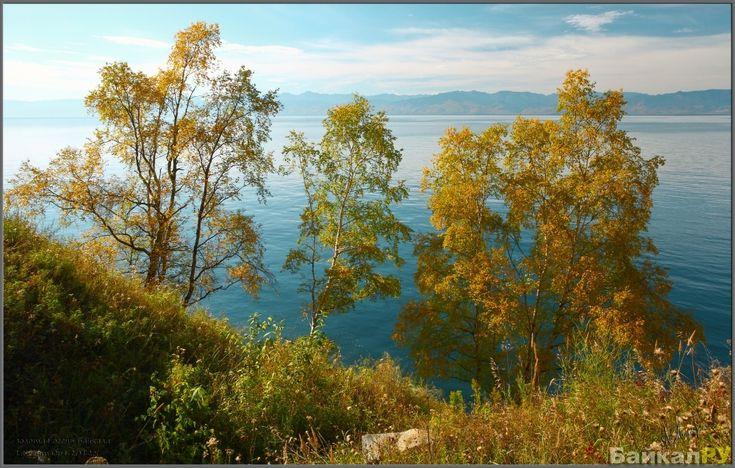Фото золото Байкальской осени. — Байкал