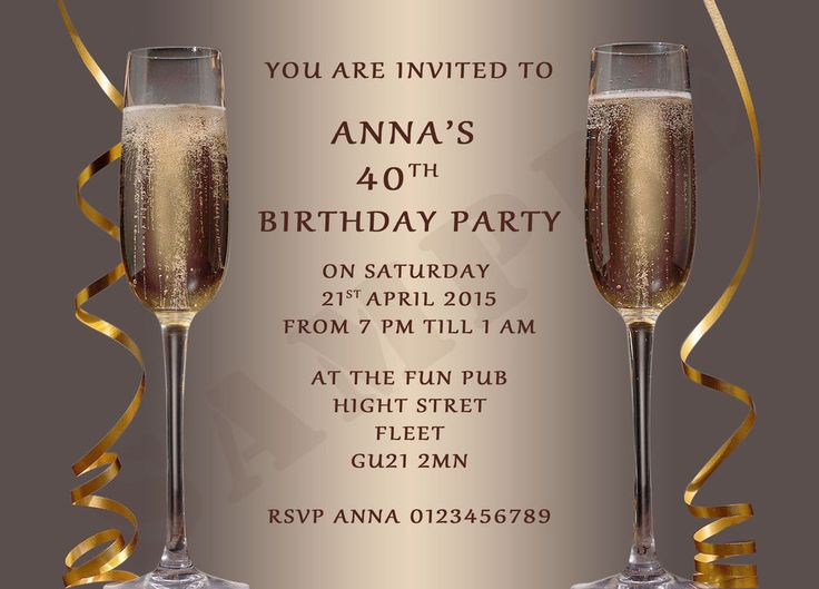 9 best 60th invite images on pinterest birthdays invitation personalised ladies adult birthday party invitations champagneproofenvelopes in home furniture stopboris
