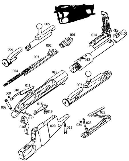 mp40 parts diagram with Guns on 25539 Suomi M31 Carbine besides 100619 Help Reassembly Field Stripped Luger 4 additionally The Uzi Submachine Gun Israels First Action Hero Video 2932974 together with 337417 in addition 1110207 How Build Ar Variant Lower Hunk Metal 22.
