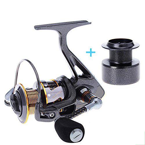 Comprar carrete de sufcasting Skysper 101BB 5.2:1 izquierda/derecha intercambiable manija plegable de la pesca de giro del carrete de plástico  Carrete de repuesto