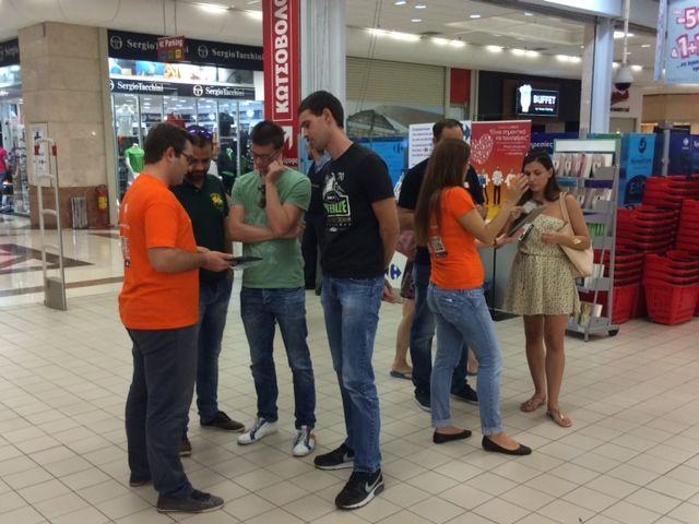 Γνωριμία με το Pockee στο Carrefour στο Avenue Mall στο Μαρούσι το διήμερο 12-13/9.