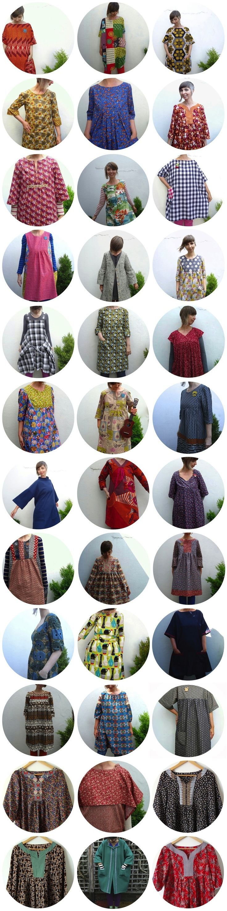 Clothes I made between 16th May 2013 and 16th May 2014 – the year I stopped buying clothes