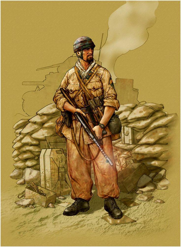 Regio Esercito - Divisione Paracadutisti Folgore in Nord Africa