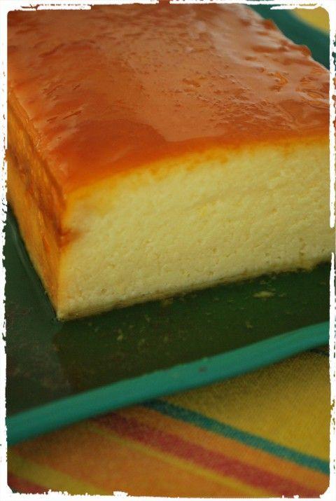 Pudim de queijo da Serra da Canastra