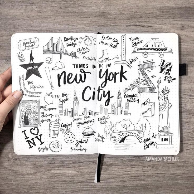 "23k Likes, 173 Comments - AmandaRachLee (@amandarachdoodles) on Instagram: ""Recently I went to New York City and fell in love with it!  I'm actually going back there this…"""
