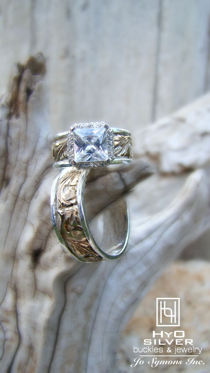 western engagement rings western wedding rings Hyo Silver has the rings that you re looking for Western Engagement