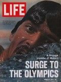 Life Magazine, August 18, 1972 - Olympic swimmer Mark Spitz