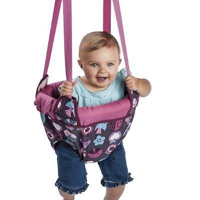 Evenflo Johnny Jump Up Doorway Jumper Up, Pink Bumbly, Free Shipping, New - http://baby.goshoppins.com/baby-gear/evenflo-johnny-jump-up-doorway-jumper-up-pink-bumbly-free-shipping-new/
