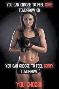 Sore or sorry ... I know Which one I will be