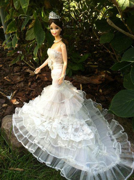 58 best Barbiekleider nähen Kleider für Barbie Puppenkleidung images ...