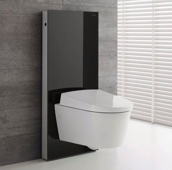 Brand new bidet toilet , the Geberit Aquaclean Sela Shower Toilet - from UK Bathrooms. #contemporary