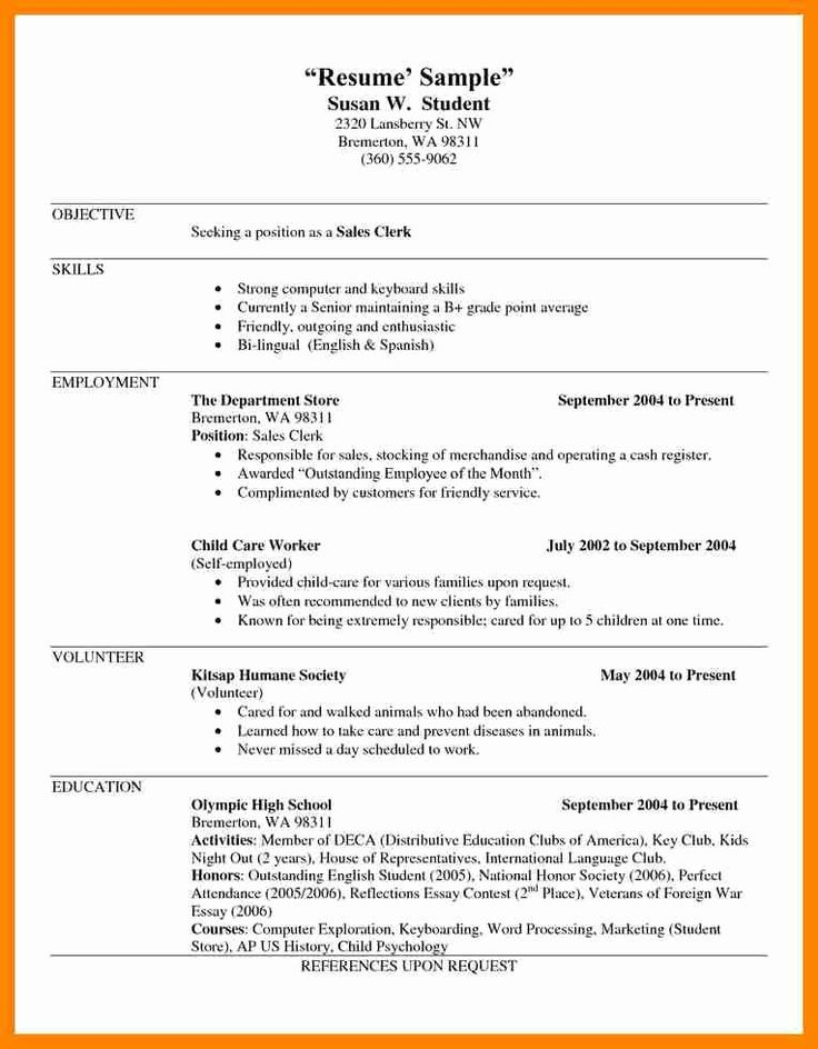 23 Self Employed Resume Examples in 2020 Resume examples