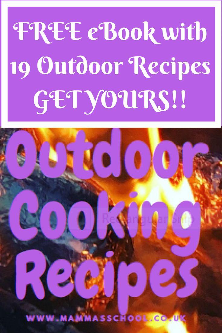 Outdoor Cooking Recipe Book, Campfire Recipes, Camping Food, Campfire Food, Outdoor Food, #recipes #camping #campfire #bushcraft #outdoors #food #outdoorfood #campingfood #campfirefood www.mammasschool.co.uk