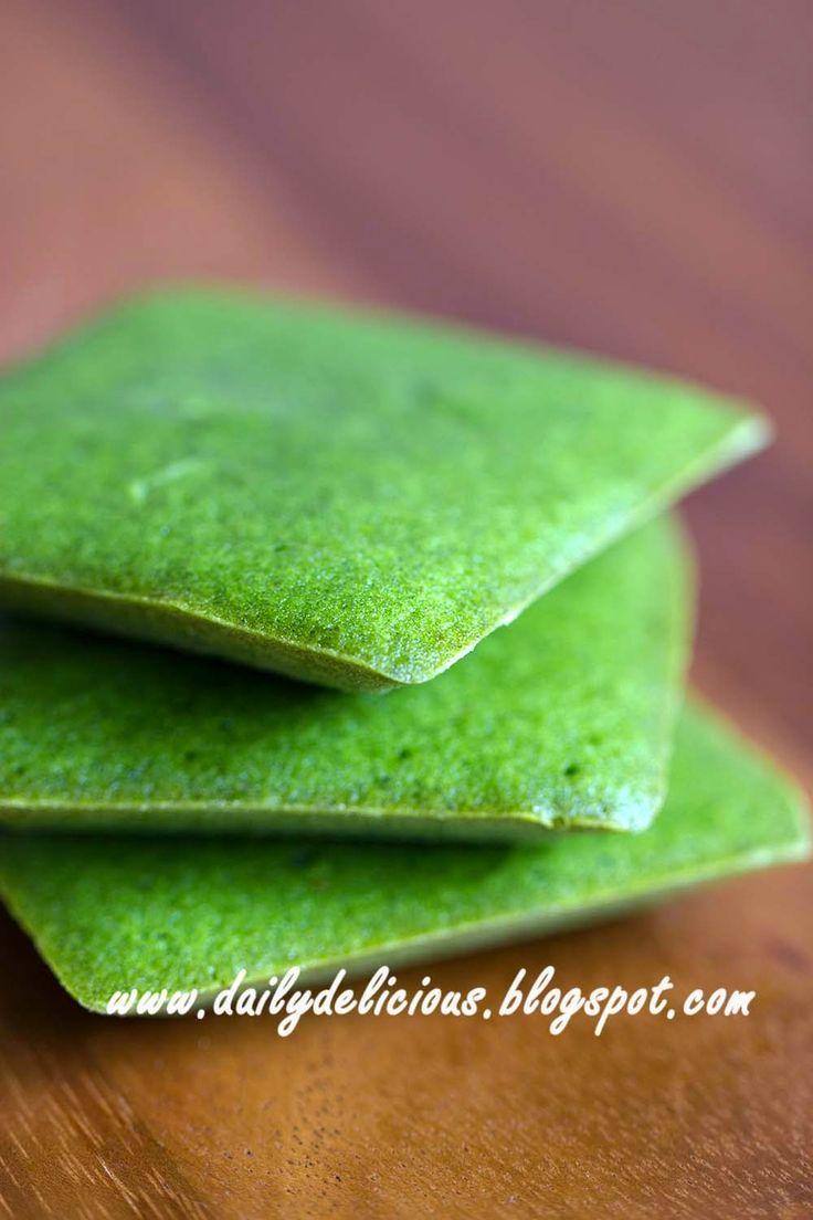 MATCHA GREEN TEA FINANCIER [dailydelicious]