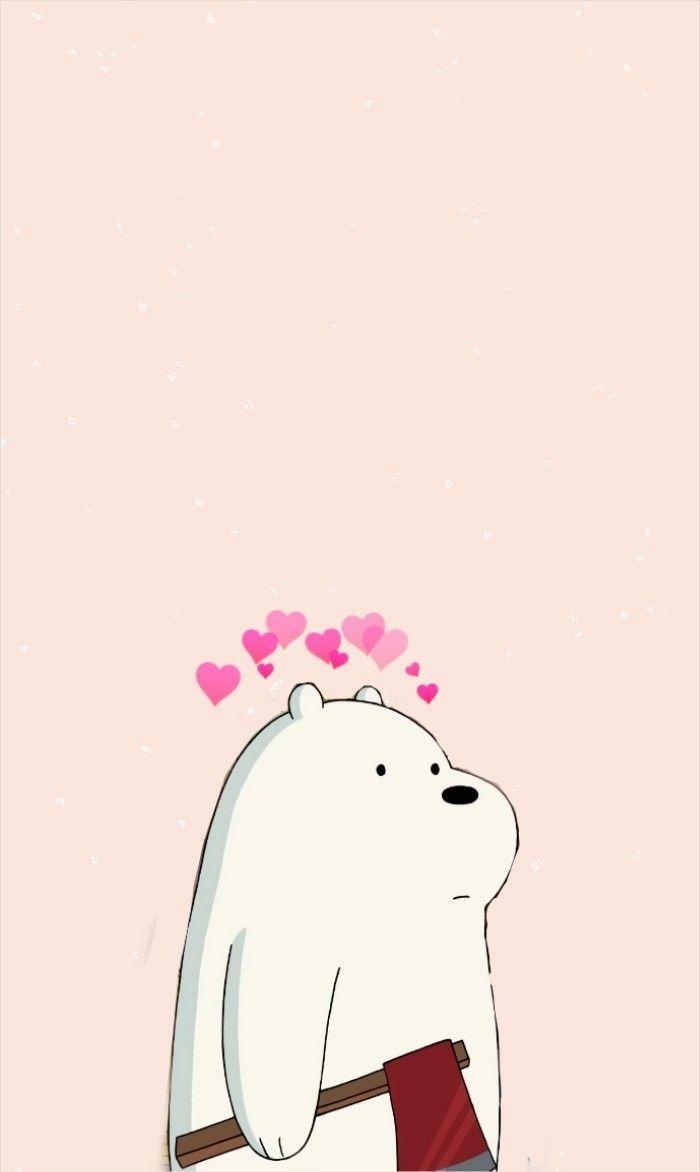 Ice Bear We Bare Bears Wallpapers Wallpaper Cave With Regard To We Bare Bears Love Wallpaper Di 2020 Beruang Kutub Lukisan Disney Boneka Hewan