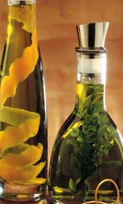 Olio profumato alle erbe Ingredienti: per circa 3/4 di litro olio extravergine…