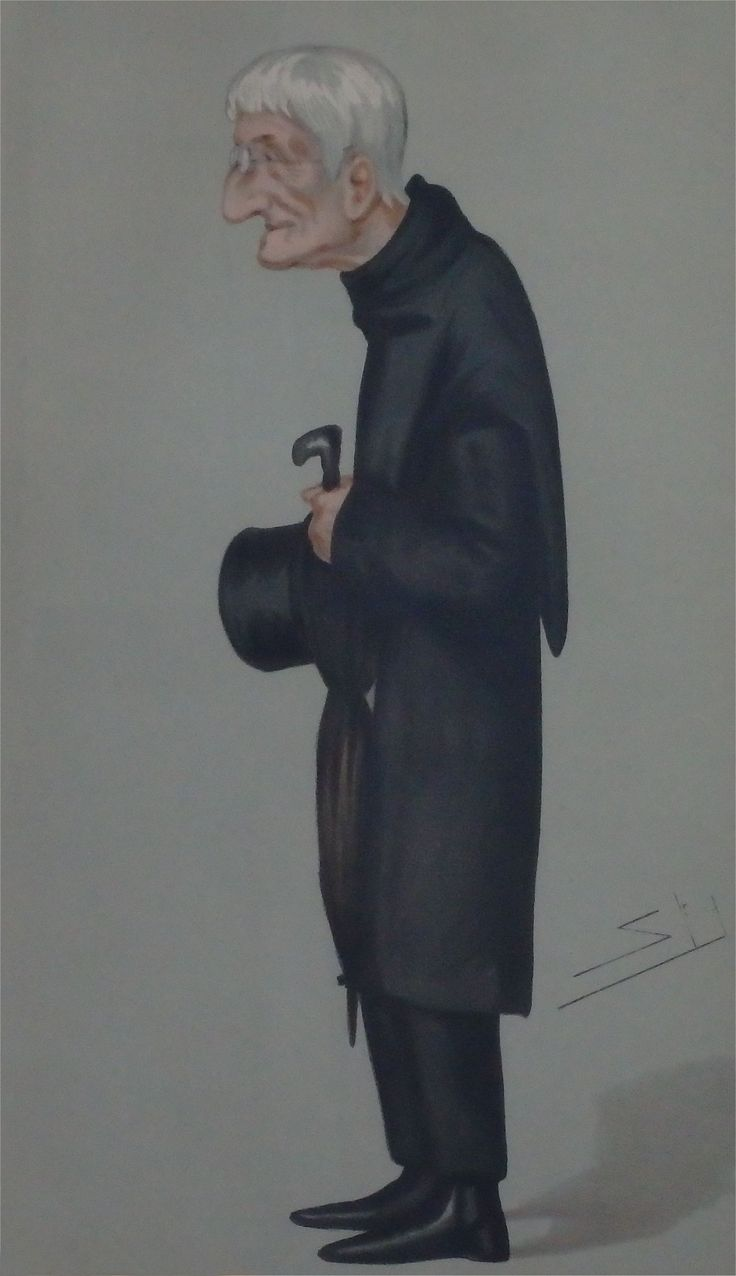 Spy's cartoon of future Cardinal, John Henry Newman, was published in Vanity Fair in 1877, along with a ringing endorsement: 'One of the greatest intellectual theologians England has ever produced.' Newman became Cardinal in 1879 until his death in 1890 as a result of pneumonia. Newman's beatification was officially proclaimed by Pope Benedict XVI on 19 September 2010 during his visit to the United Kingdom.