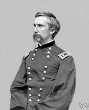 Civil War Photo - Union General Joshua Chamberlain. As a Captain, he and his regiment saved the day @ Little Round Top.