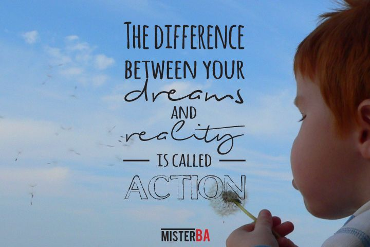So true. #motivational #quote #quotes #inspirational #business #dreams #action #MondayMotivation #MisterBA