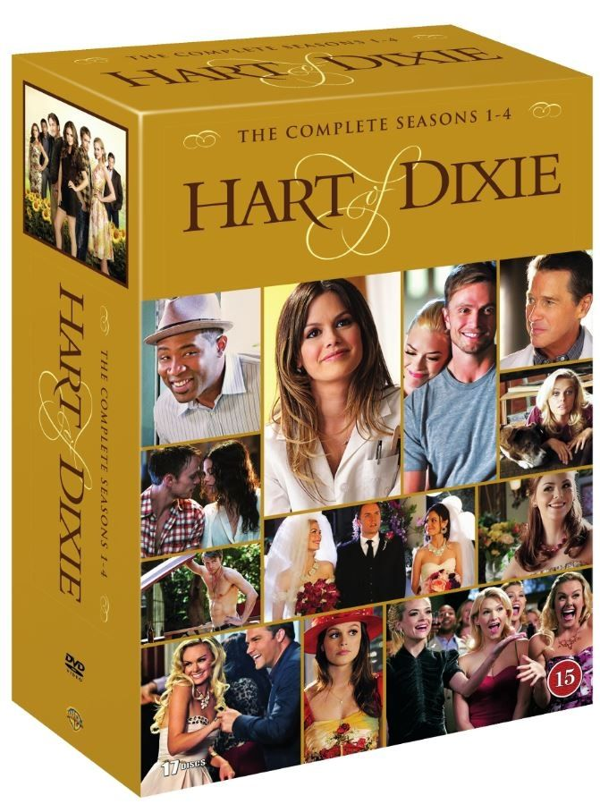 Hart of Dixie: Complete Box - Sesong 1-4 | kr. 399 | CDON