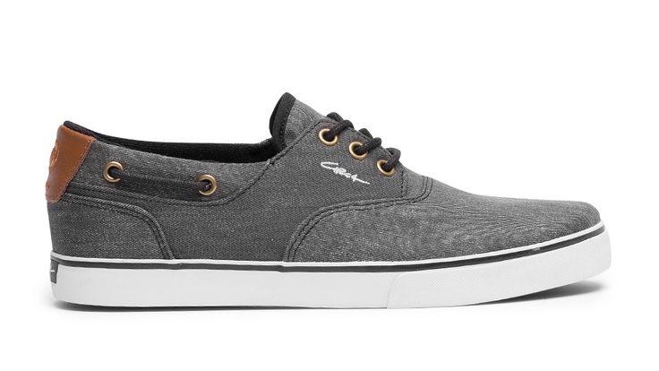 Zapatillas Circa Valeo Black Denim Shoes www.roundtripshop.com