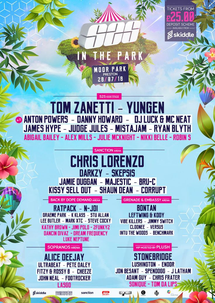 This will be massive - headlining the VIP at S2S In The Park, Moor Park, Preston UK July 28 - join the Facebook event here http://bit.ly/S2Sitp || Tickets http://bit.ly/s2stix