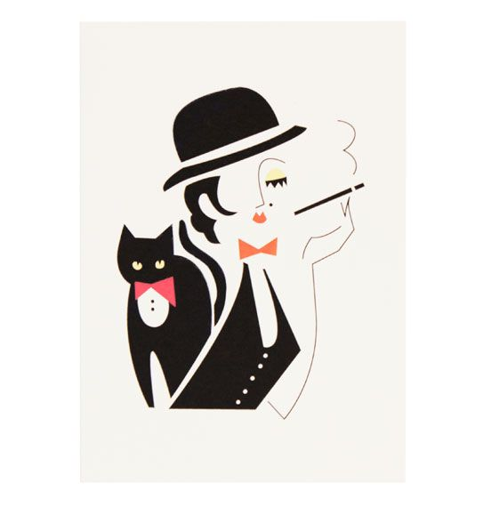 Les Charlatans Minelli Card By Darling Clementine