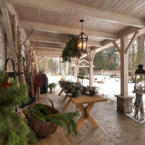 396 best porches decks and outdoor spaces images on pinterest for Craftsman style screened porch