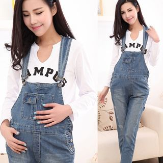 Buy Mamaladies Maternity Jumper Jeans at YesStyle.com! Quality products at remarkable prices. FREE WORLDWIDE SHIPPING on orders over Mex$ 800.
