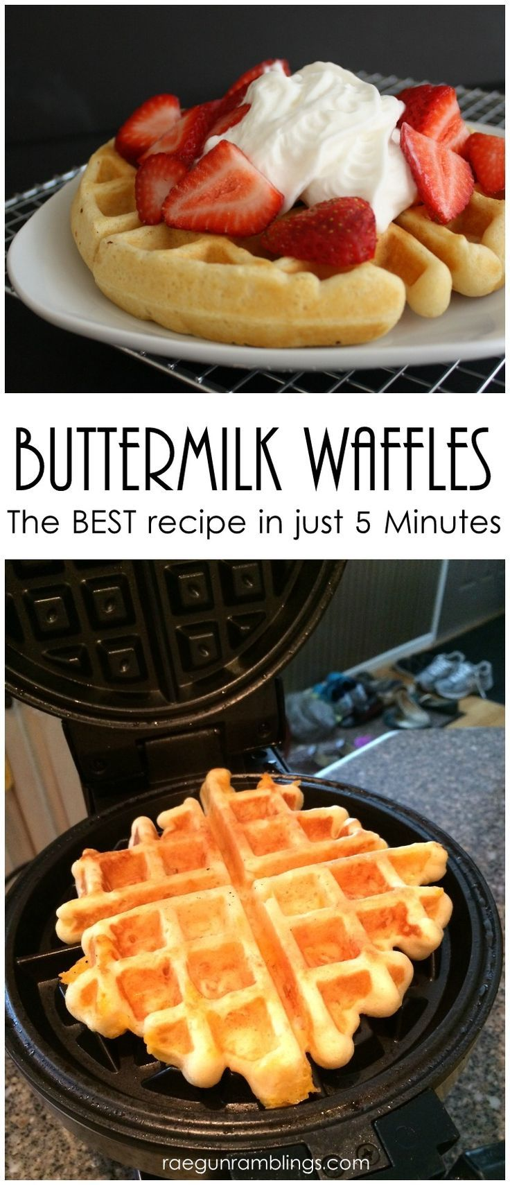 Make waffle irons known for another delicious breakfast food—omelets. Simply cook the eggs right in the iron for a delicious and quick meal. Simply cook the eggs right in the iron for a delicious and quick meal.