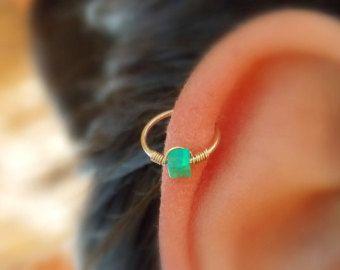 Helix Ohrring  Septum Helix  Opal Septum Ringe  Ring