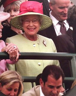Q.M. the Queen at the 2007 Kentucky Derby