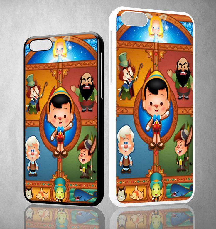 pinocchio art Y1326 iPhone 4S 5S 5C 6 6Plus, iPod 4 5, LG G2 G3 Nexus 4 5, Sony Z2 Case