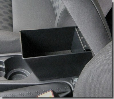 FREELANDER 2 (2007-2012) Adjustable Armrest with large storage in dark grey fabric