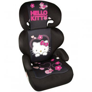 hello kitty booster seat kaufmann car seat hello kitty group 2 3 15 36 kg ece 44 04 proved. Black Bedroom Furniture Sets. Home Design Ideas
