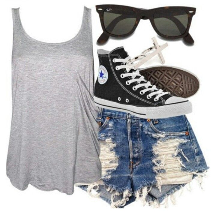 how to wear high top converse with shorts