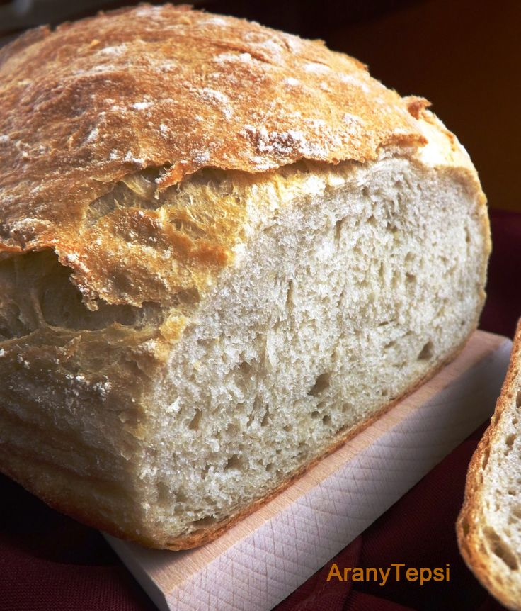 AranyTepsi: Rusztikus krumplis kenyér