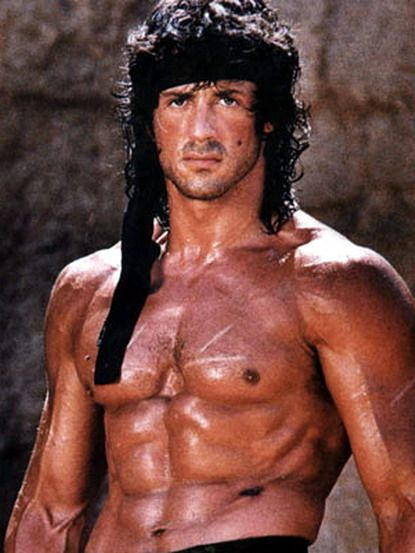 sylvester stallone | Sylvester Stallone Body Building Photo