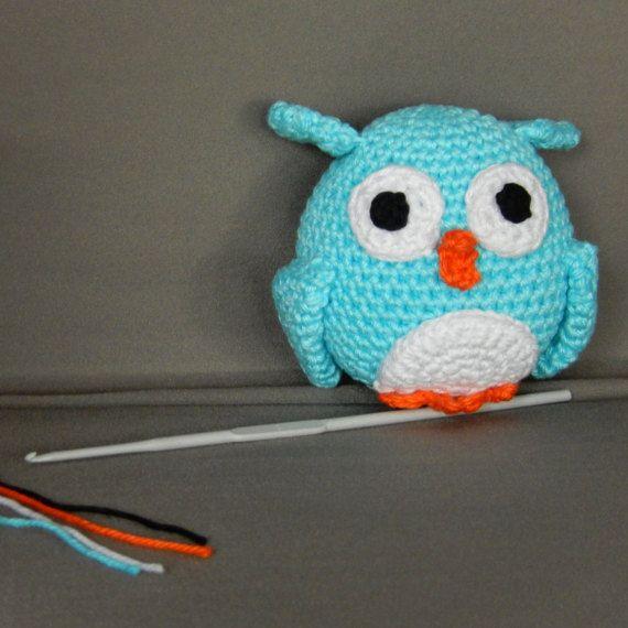 Bekijk dit items in mijn Etsy shop https://www.etsy.com/nl/listing/514881433/amigurumi-uil-gehaakt-baby-knuffel