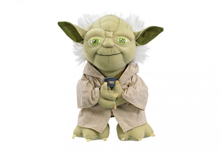 Holiday Gift Guide | Out-of-this-World Star Wars Toys: 9-inch Talking Yoda plush doll