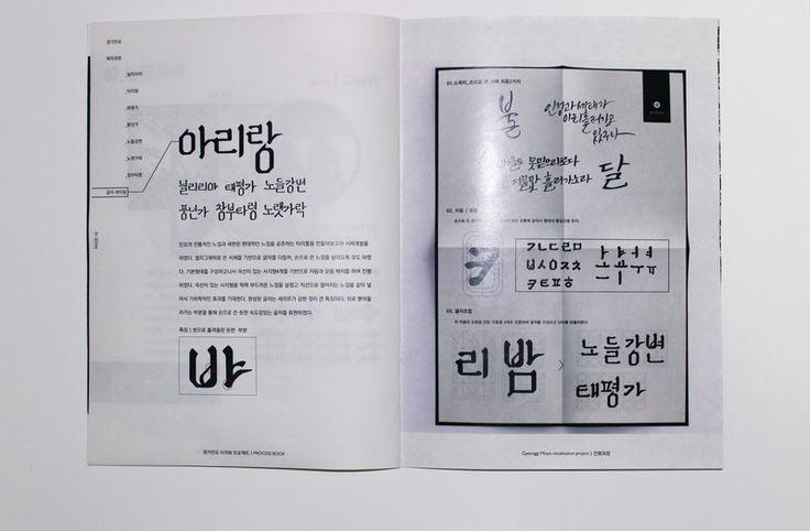 밤의유흥 : 경기민요 시각화 프로젝트 - 디지털 아트, 브랜딩/편집